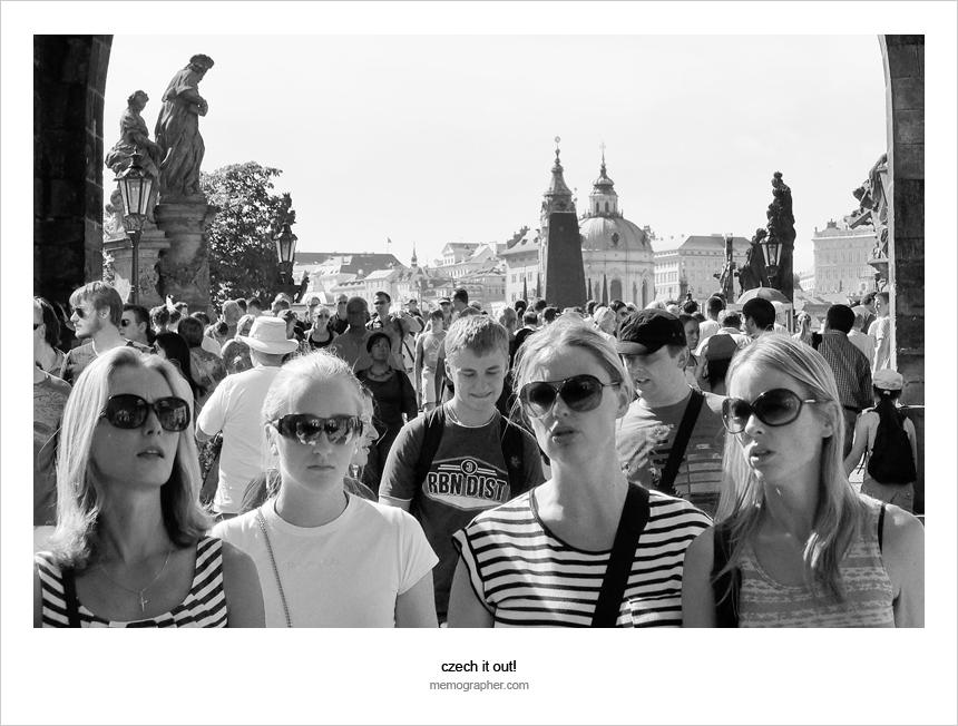 Prague: Portraits of Strangers