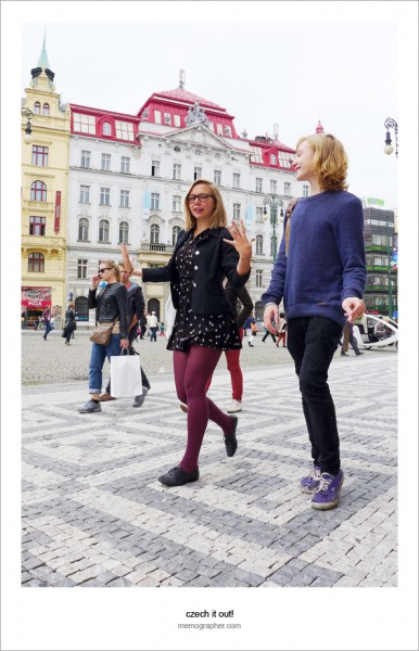 Prague: Street Portraits