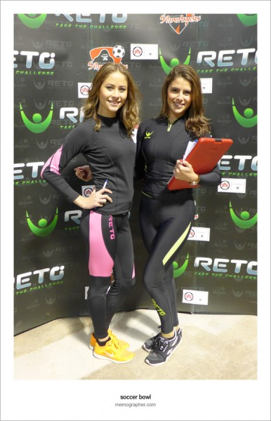 Beautiful Models of Reto Sports at 2013 NASL Soccer Bowl