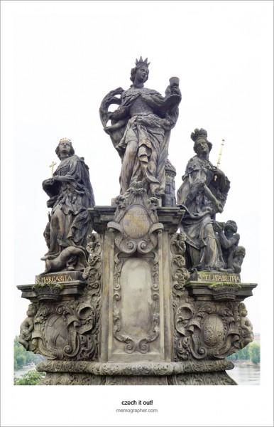 Prague: Statues on the Charles Bridge