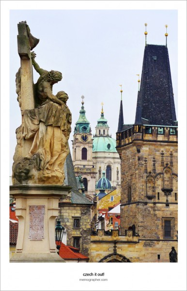 Prague: Statues on the Charles Bridge