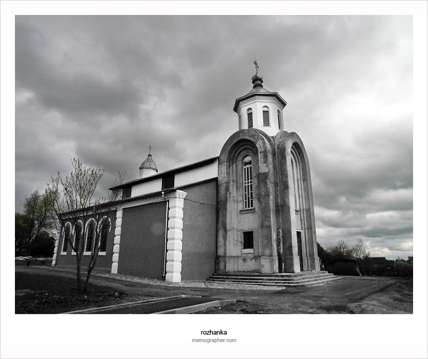 The Church of Saint Nikolai. A former synagogue.