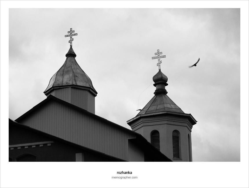The Crosses on the Church of Saint Nikolai