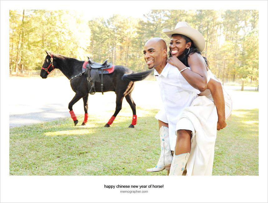 Happy Chinese New Year of Horse!  from Atlanta, Georgia