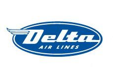 Delta Airlines Logo 1945