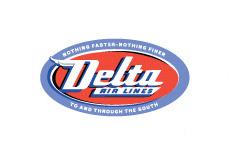 Delta Airlines Logo 1955
