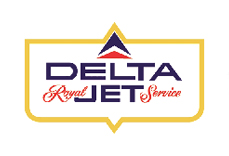 Delta Airlines Logo 1959 Royal Jet Service