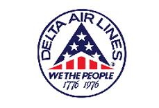 Delta Airlines Logo 1976