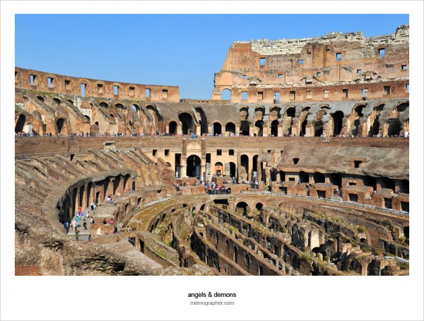 The Colosseum. Rome, Italy