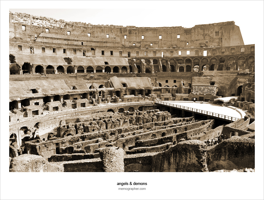 The Colosseum, Coliseum, Colosseo, and Flavius