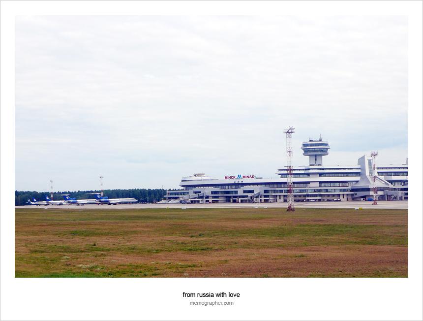 Minsk National Airport (MSQ) - Минский Аэропорт (Минск-2)