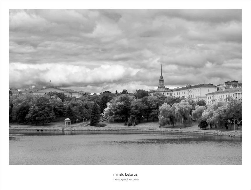 Svislach River - Река Свислочь