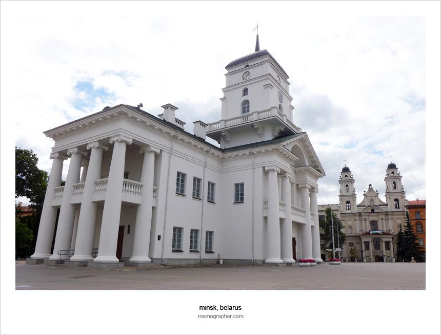 Minsk Ratusha (City Hall) - Минская Ратуша