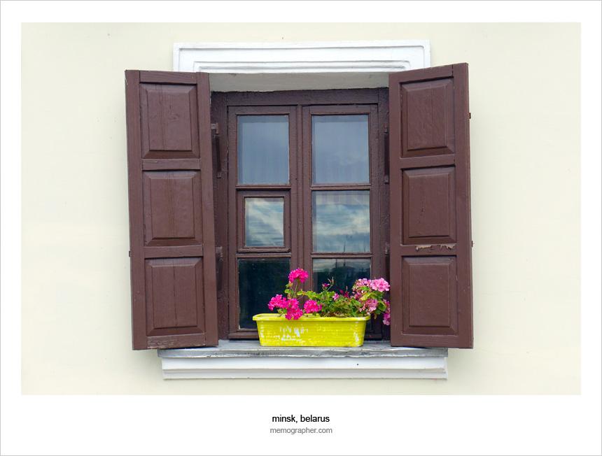 The Window. Trinity Suburb - Троицкое Предмесье