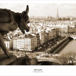 The Gargoyles of Notre Dame de Paris