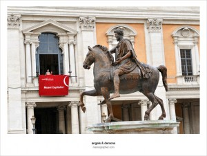 The Statue of Emperor Marcus Aurelius