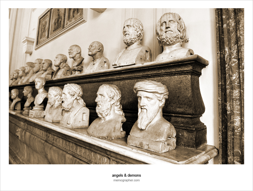 The Busts in The Capitoline Museums