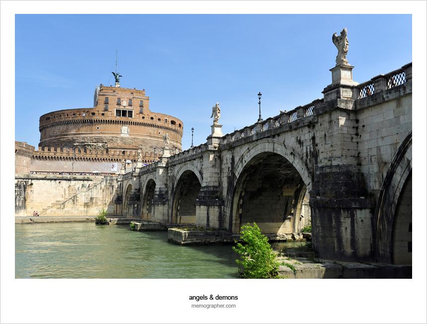 Ponte Sant'Angelo. Rome, Italy