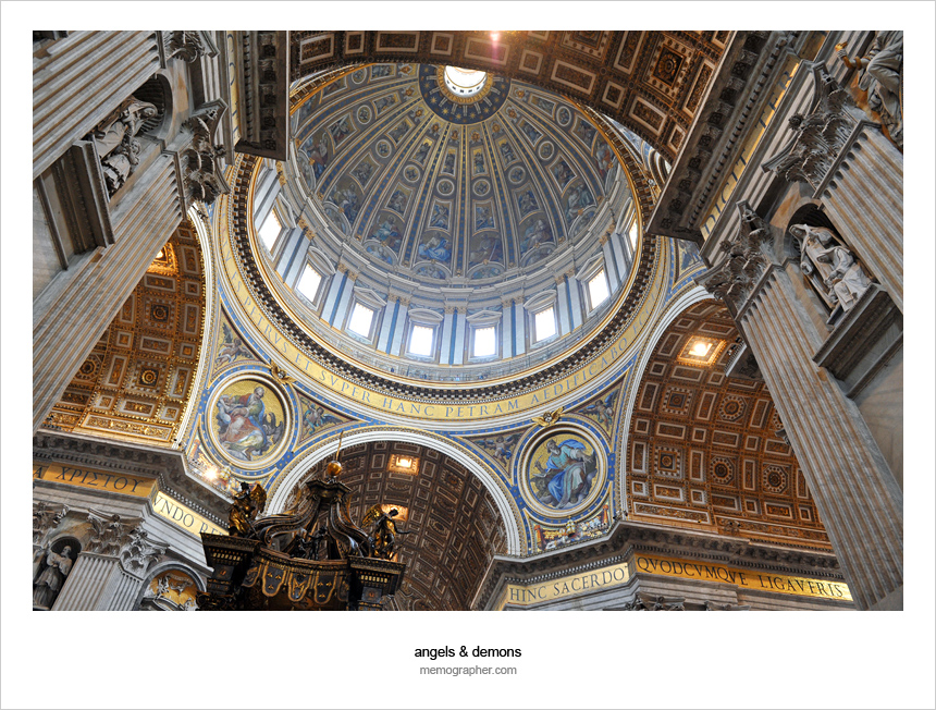 The Dome of St. Peter's Basilica, Vatican City