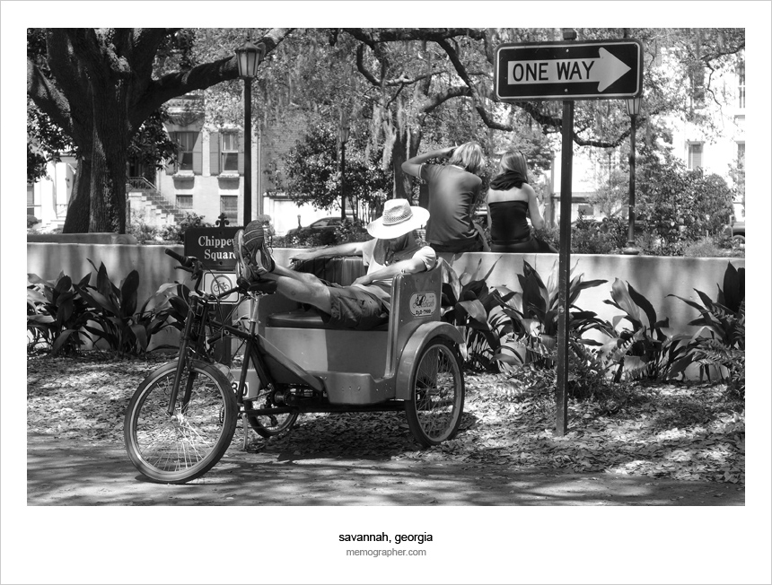Street Photography from Best Southern City - Savannah, Georgia