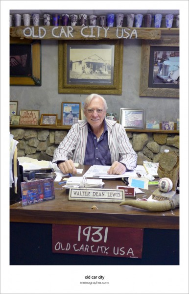 Walter Dean Lewis, The Owner, Old Car City USA