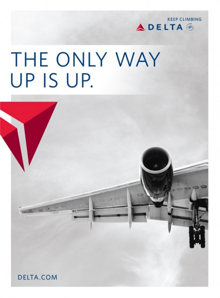 Delta Air Lines - Magazine Ads From 2010's