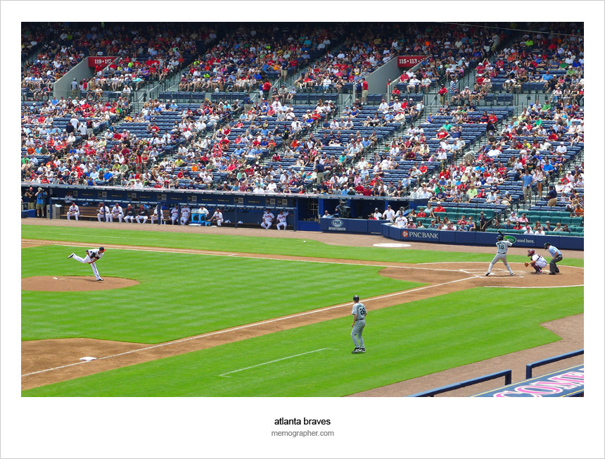 "Turner Field - The ""Home of The Braves"""