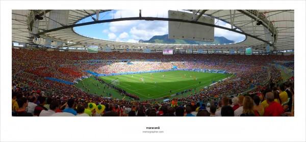 Maracana Stadium. 2014 FIFA World Cup Brazil. Russia vs Belgium