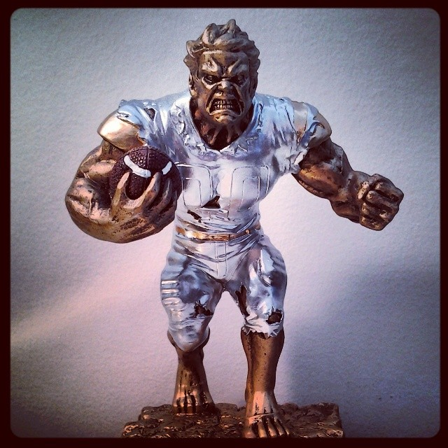 """On My Shelves. """"Gronk"""" Figurine"""