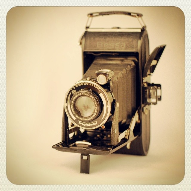 On My Shelves. Bessa Voigtlander. Click on Image to View Another Version.