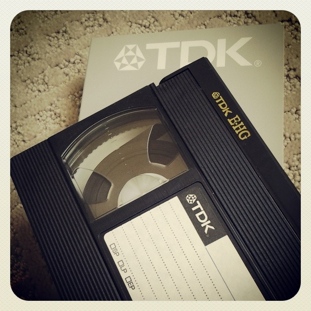 On My Shelves. VHS Tape(s). A lot!