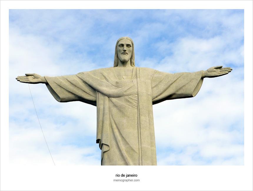 The Christ the Redeemer statue. Rio de Janeiro, Brazil