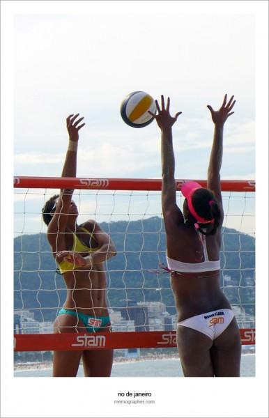 Copacabana Beach Volleyball