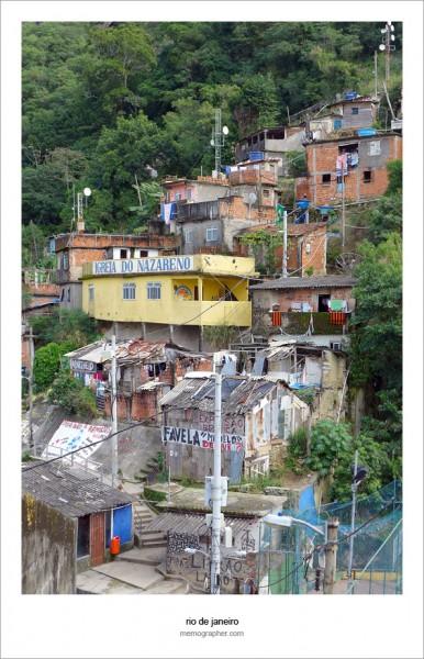 Santa Marta Favela. Rio de Janeiro, Brazil