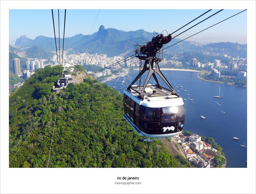 View from Sugar Loaf Mountain. Rio de Janeiro, Brazil
