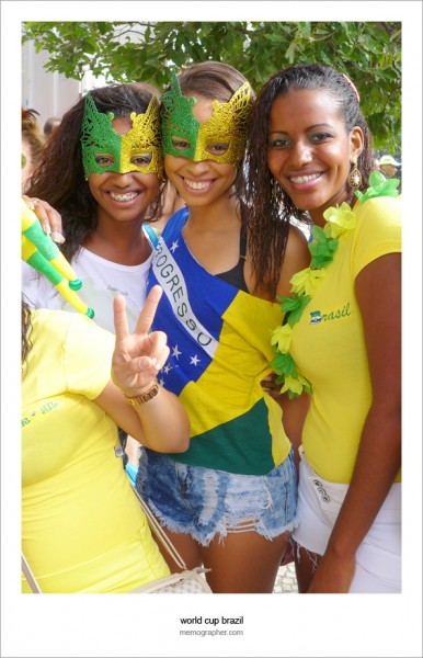 Brazilian Fans.  The Team Neymar #10