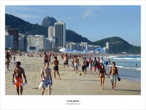 Copacabana Beach Photo Chronicles