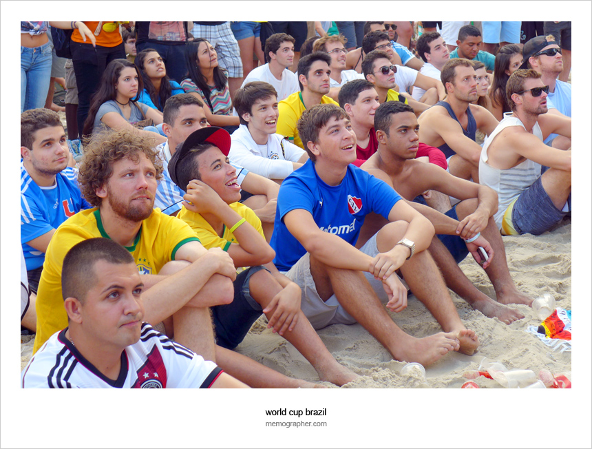 All In One Rhythm: Fans of the World Cup Brazil