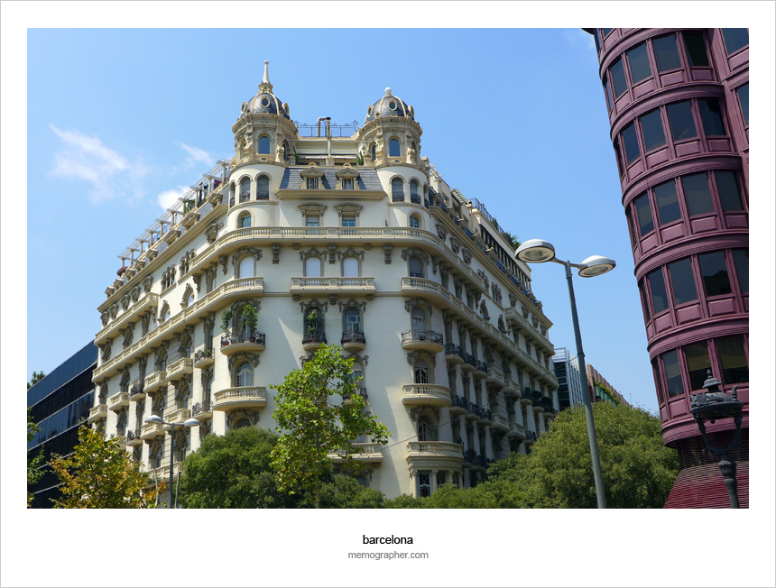 Eye Pleasing Architecture of Barcelona