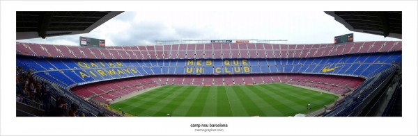 Camp Nou - The Home of Barca