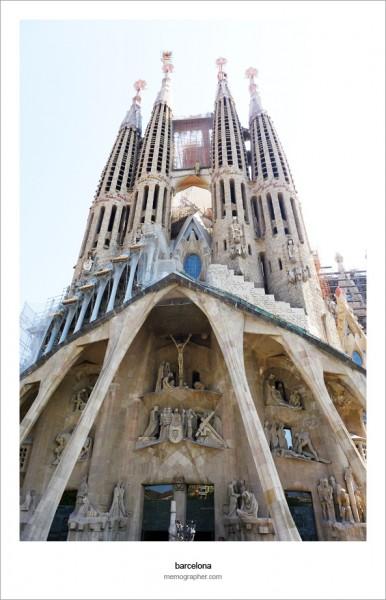 Sagrada Familia, Antoni Gaudi. Barcelona, Spain