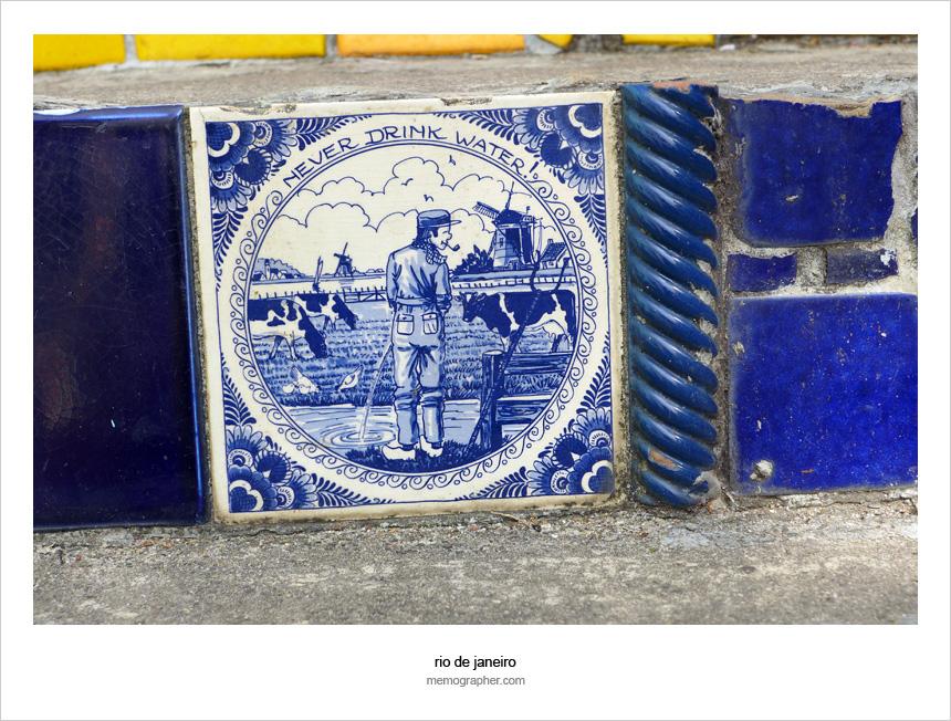 The Tiles of Selaron Steps
