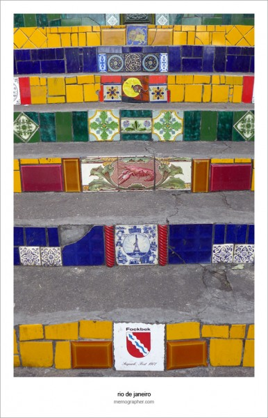 The Tiles of Selaron Steps