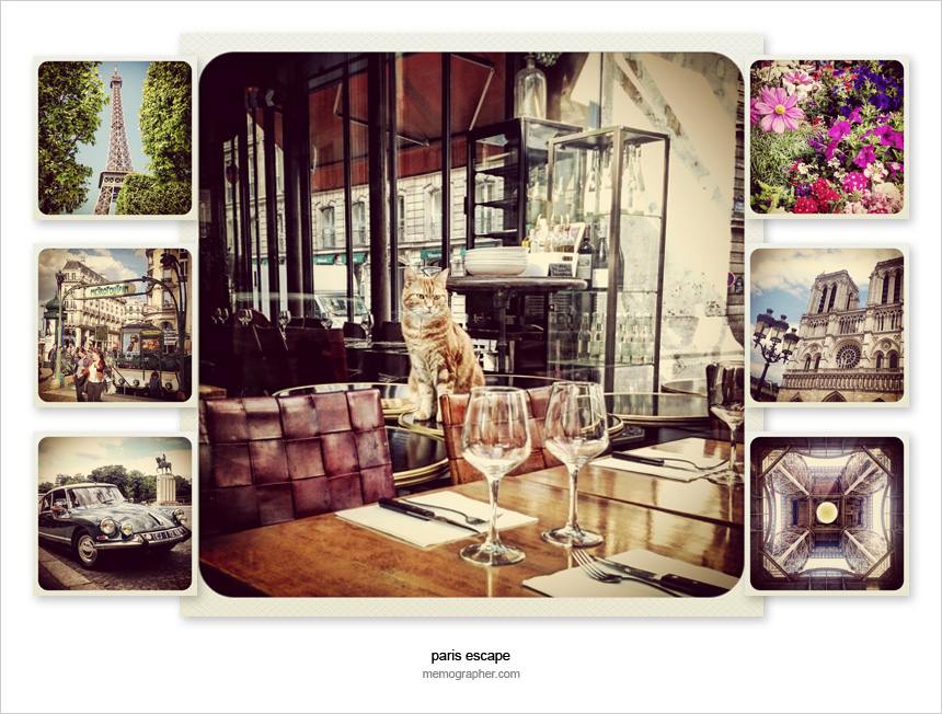 Paris in Instagram Squares