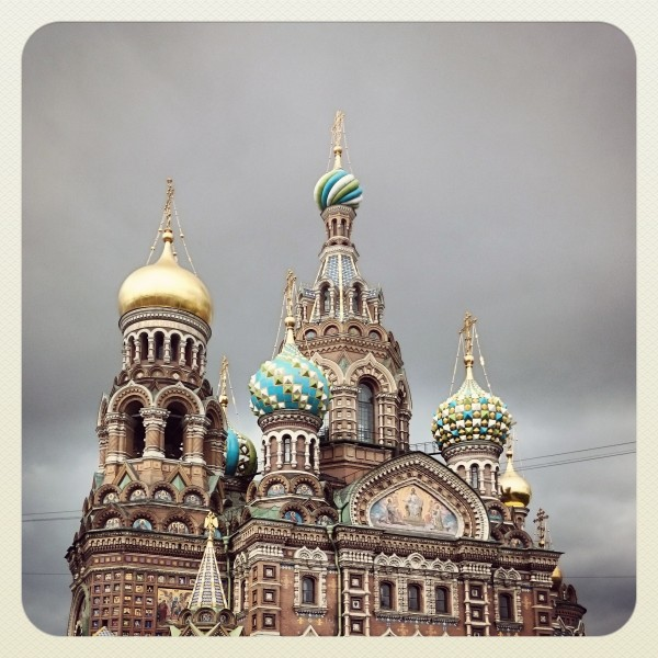 The Church of the Savior on Spilled Blood. Saint Petersburg, Russia