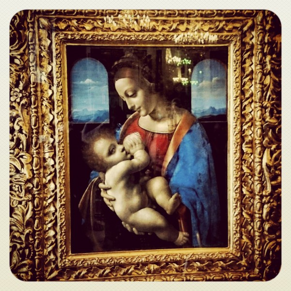 The Madonna Litta by Leonardo da Vinci