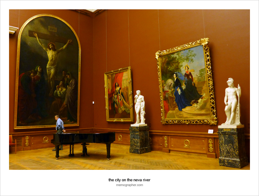 The Russians and The Russian Art in The Russian Museum