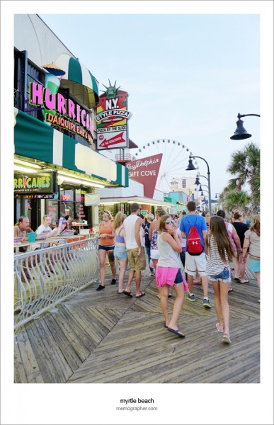 The Boardwalk of Myrtle Beach