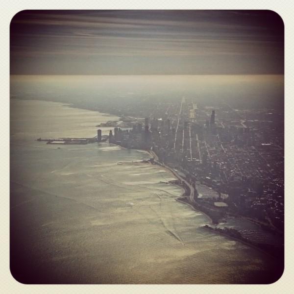 Delta Flight to Chicago