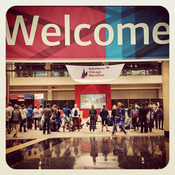 Chicago Marathon Expo at McCormick Place